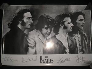 Afiche De The Beatles