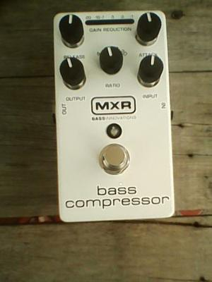 Bass Compressor Mxr Compresor De Bajo