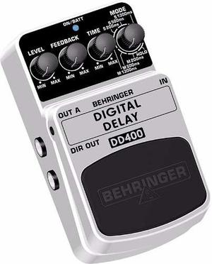 Behringer Dd400 Digital Delay Guitar Effects Pedal