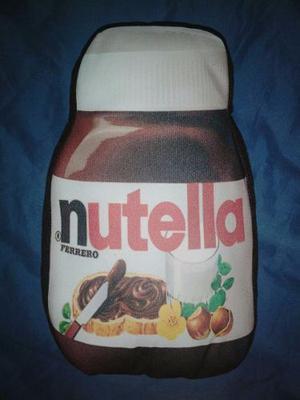 Cojines En Forma De Nutella 30x20cm