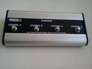 Foot Switch Line 6 Fbv4 En Perfecto Estado. Con Su Cable