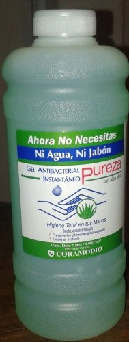 Gel Antibacterial Pureza 1 Litro