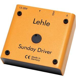 Lehle Sunday Driver Guitar Preamp, Buffer & Drive 3 En 1