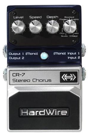 Pedal Efecto Guitarra Digitech Hardwire Cr-7 Stereo Chorus