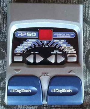 Pedalera De Guitarra Digitech Rp50
