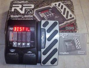Pedalera Digitech Rp255 Multiefectos De Guitarra Impecable