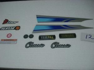 Calcomania Moto Rx100 Yamaha +combo Original
