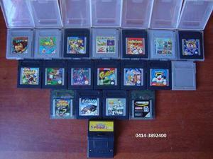 Combo De 19 Juegos De Game Boy En Excelentes Condiciones !!!
