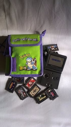 Game Boy Advance Sp En Perfecto Estado, 8 Juegos