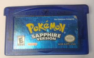 Juego De Game Boy Pokemon Sapphire Version