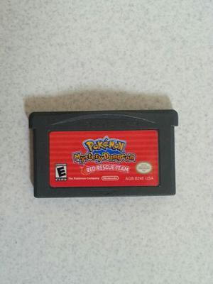 Juego Original De Pokemon Red Rescue Team Game Boy Advance