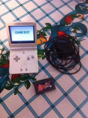 Nintendo Game Boy Advance Sp Juego Y Cargador Incluidos