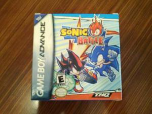 Sonic Battle: Juego De Game Boy Advance