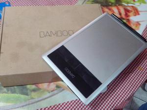 Tableta digitalizadora wacom bambo como nueva