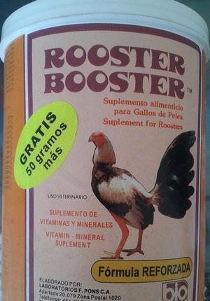 estimulante para gallos.