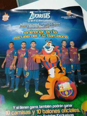 Afiche Del Fútbol Club Barcelona