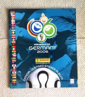 Albúm Panini Mundial De Fútbol Alemania  Lleno