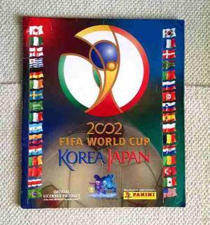 Albúm Panini Mundial De Fútbol Korea Japon  De 576