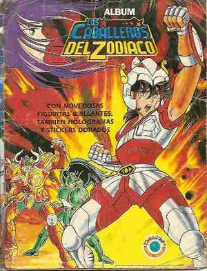 Album De Los Caballeros Del Zodiaco 1 En Formato Digital Pdf