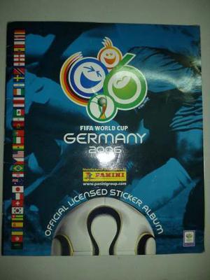 Album Del Mundial Alemania  Panini