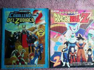 Album Dragon Ball Z 2 Y Caballeros Del Zodiaco 2