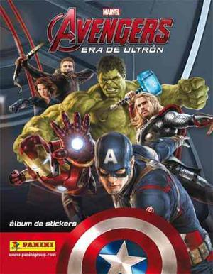 Album Los Vengadores La Era De Ultrón (avengers)