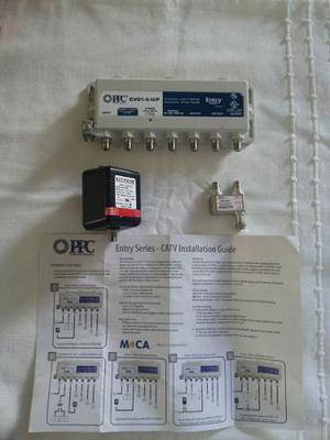 Amplificador De Señal Ppc Evolution 5 Puertos.