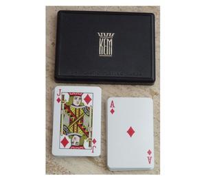Baraja de poker KEM doble baraja de 52 cartas cada uno (104