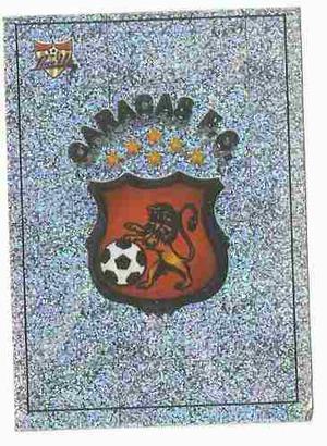 Barajita Panini Sticker Calcomania Caracas Fc 6 Estrellas