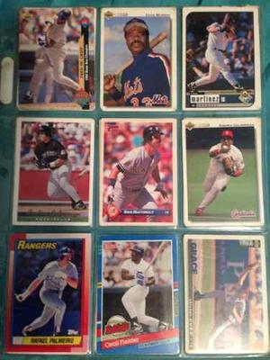 Barajitas De Beisbol Grandes Ligas Remato Lote De 990