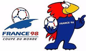 Barajitas Escudos Panini Mundial De Futbol Francia 98