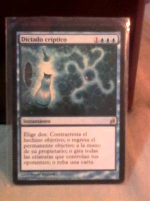 Carta Cryptic Command Dictado Críptico Magic The Gathering
