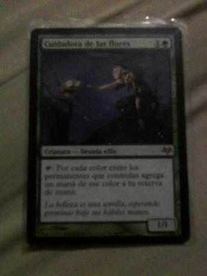 Carta Magic Cuidadora De Las Flores Bloom Tender Mtg