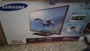 Tv Samsung 43 Plasma, Nuevo A Estrenar