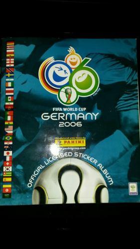 Álbum Panini Mundial De Futbol Alemania