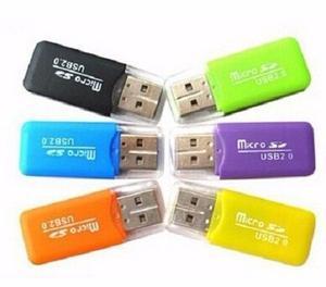 Adaptador Para Memoria Micro Sd A Usb 2.0 (tipo Pendrive)