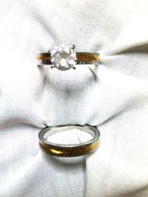 Anillos De Matrimonio O Compromiso Nª 9 Acero