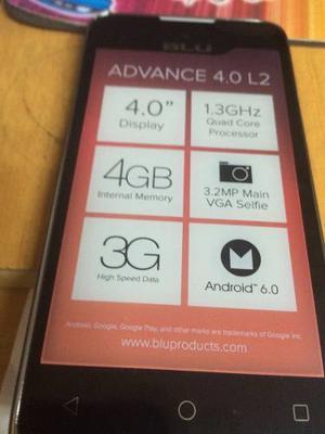 Blu Advance 4.0 L2. Liberado Doble Sim. Doble Camara.