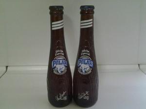Combo Coleccionable De 2 Botellas Tipo Bate Polar