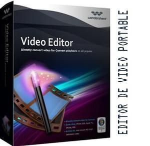 Editor De Video Portable - Wondershare Windows