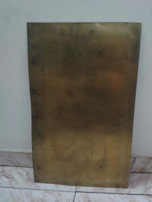 Lamina De Cobre Para Orfebreria 0.75 De Grosor 50x30