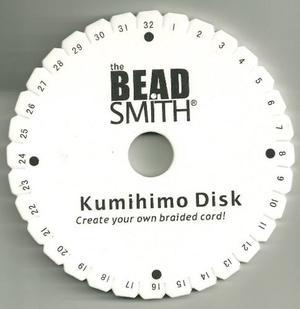 Material Para Bisuteria Telar Disco Kumihimo Pulsera Japones