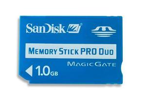 Memory Stick Pro Duo Sony 1gb