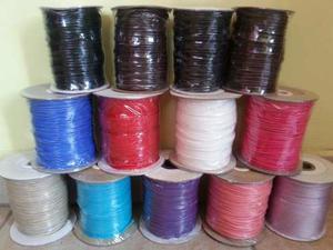 Rollo Piel De Serpiente 100 Mts Calibre 2,5mm Varios Colores