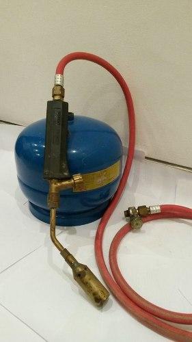 Soplete Para Orfebrería Con Bombona A Gas Incluido En El