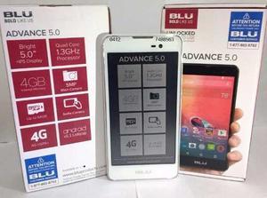 Telefono Celular Android Blu Advance 5.0 Dual Sim Blanco 4g