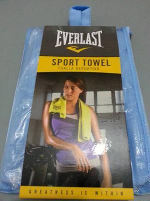 Toalla Deportiva Everlast Microfibra / Negociable