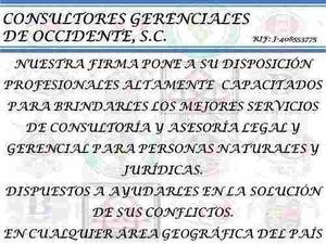 Abogados Consultores Legales Y Gerenciales