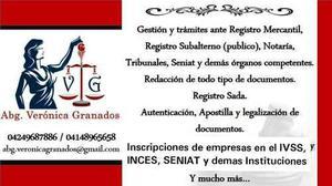Asesoría Jurídica Y Trámites Legales.