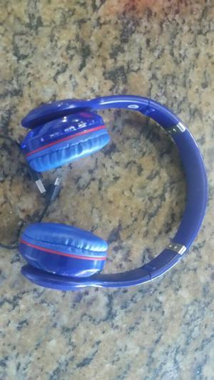 Audifono Beats Micro Sd Mp3 Bluetooth Tm